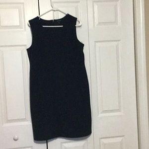 LandsEnd Tailored Knit Sheath Dress